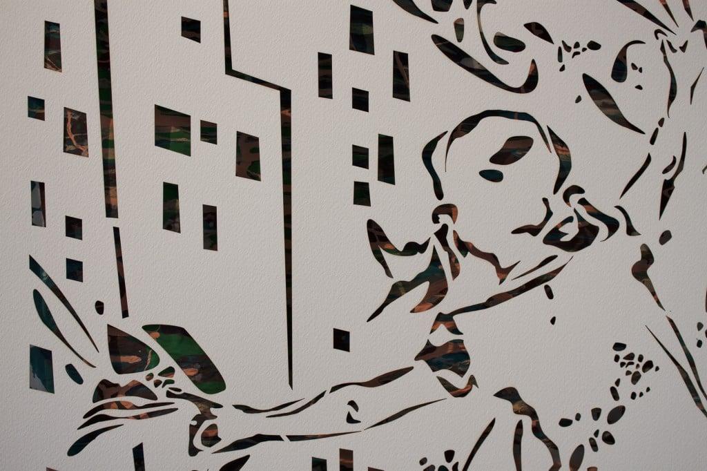Evira Dayel in the Ramp Gallery