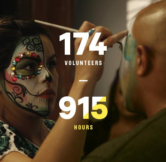 volunteer stats