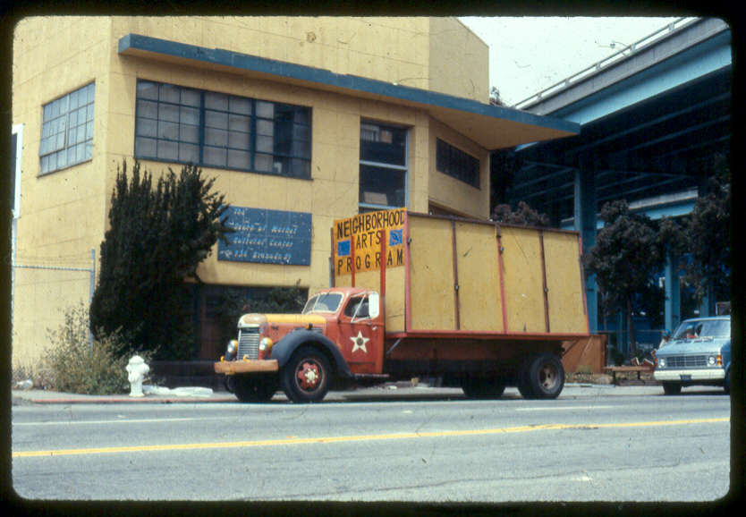 Archival image of SOMArts Cultural Center