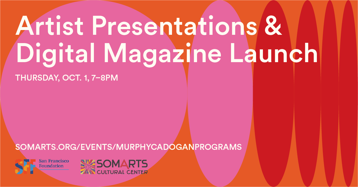 Murphy & Cadogan artist presentations and digital magazine launch