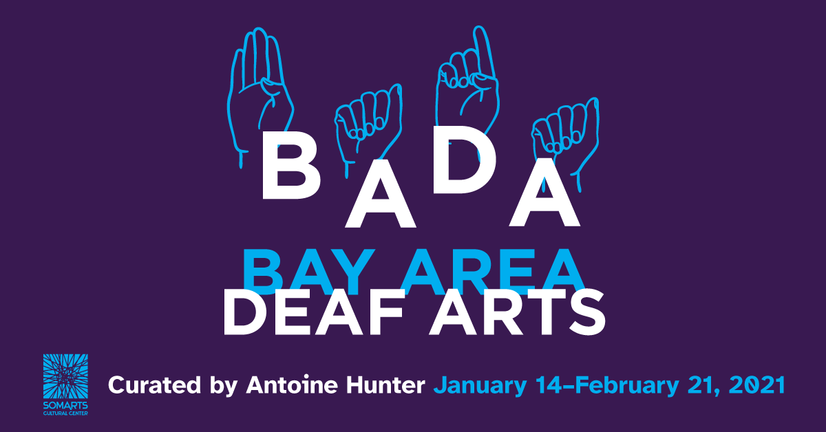 Bay Area Deaf Arts exhibition banner