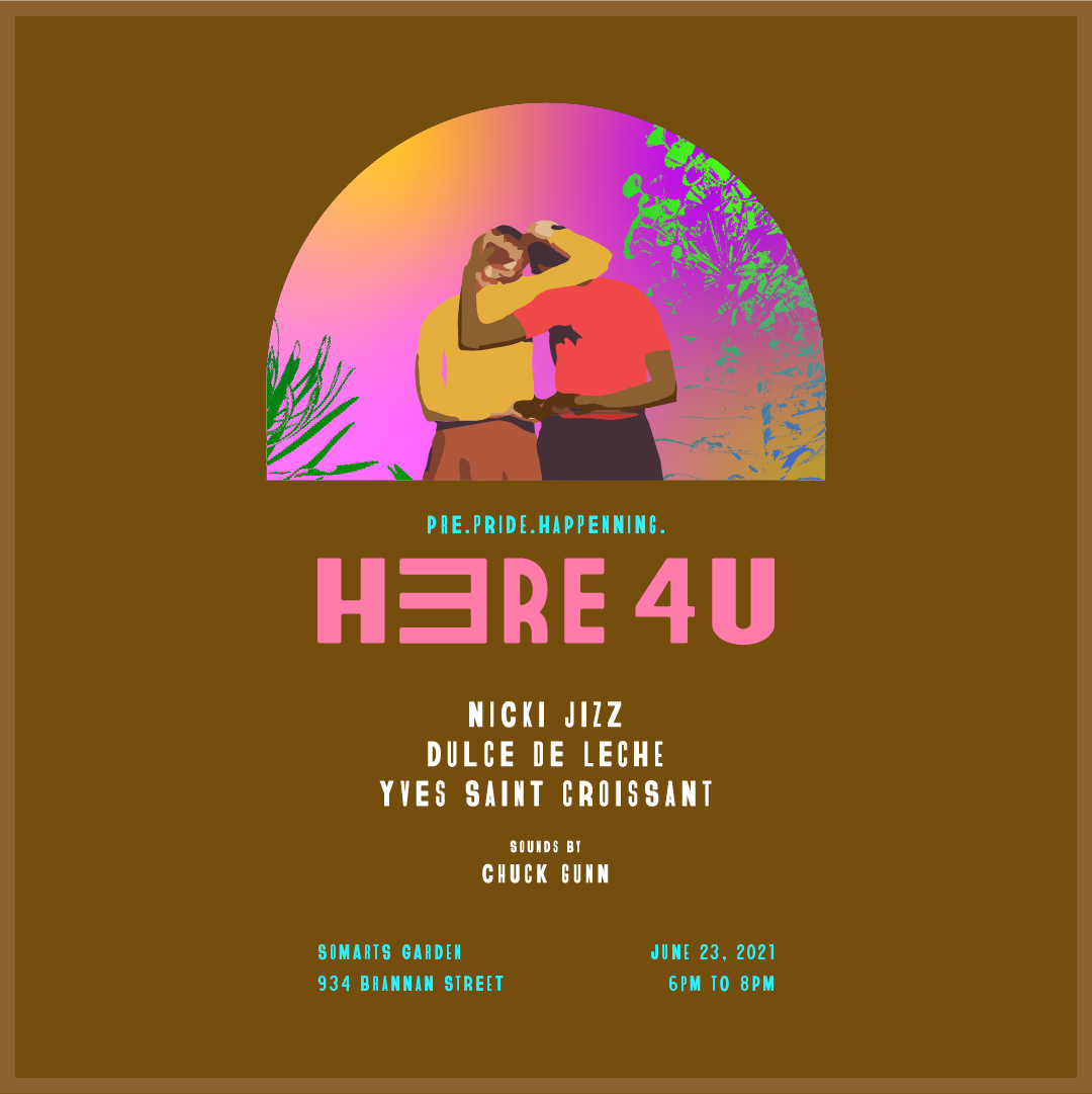 HERE 4 U event flyer
