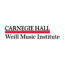 Carnegie Hall Weill Music Institute